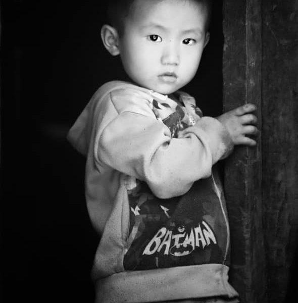 Ребёнок в лаосе