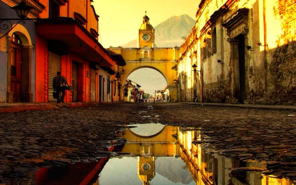 площадь в Гватемале