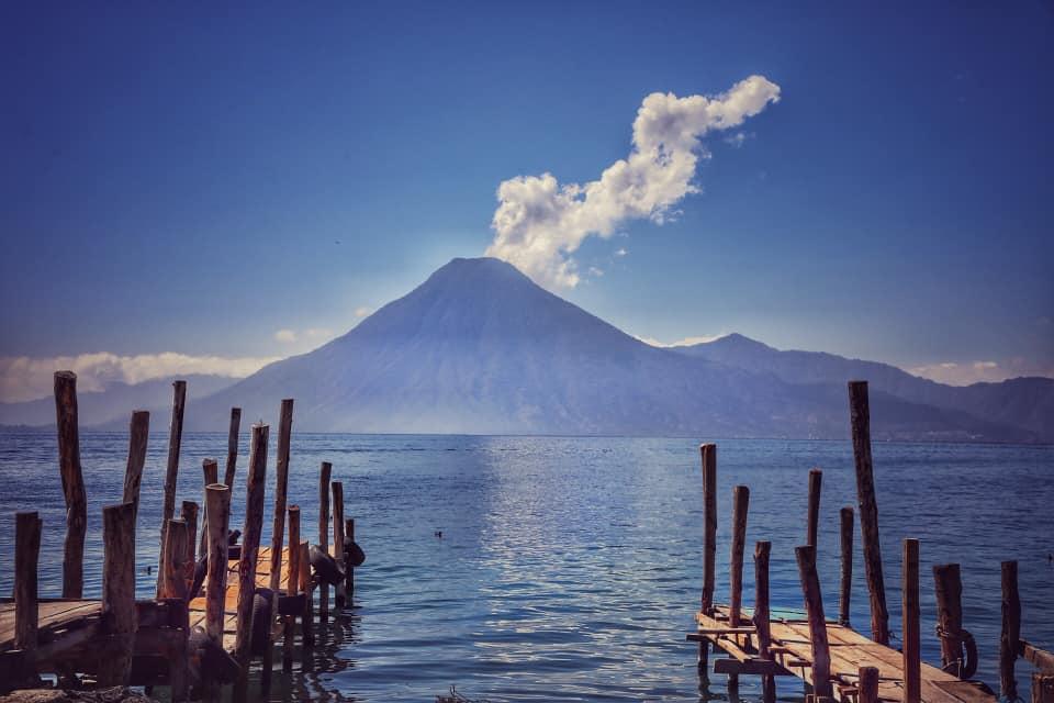вулкан в Гватемале
