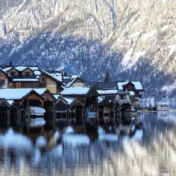 Деревня у озера, Австрия