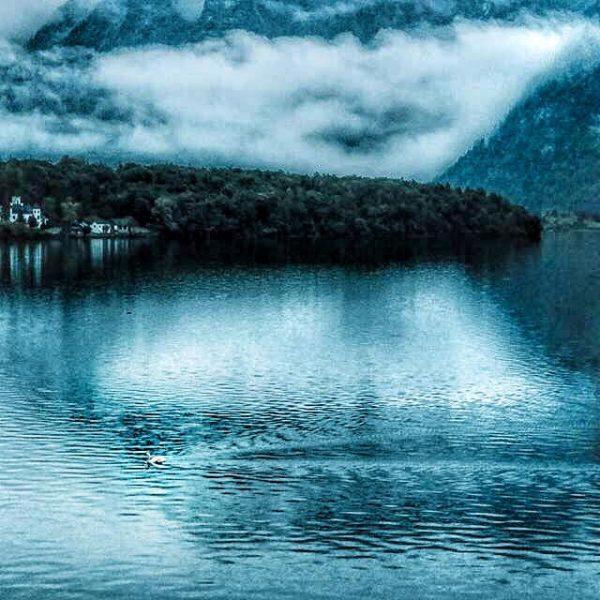 Озеро в деревне Хальштатт