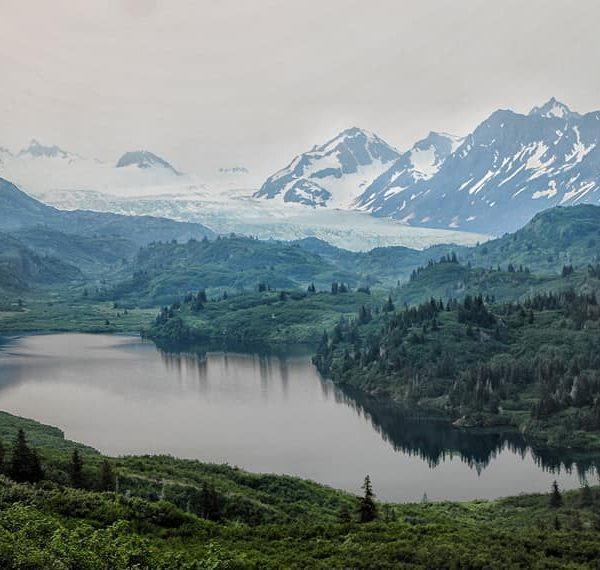 Озеро Эмеральд, Аляска