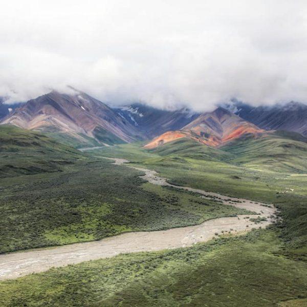 Цветные холмы
