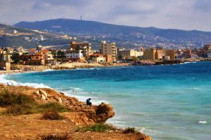 Ливан, окраины Бейрута