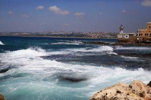 Ливан,  маяк в городе Сайда