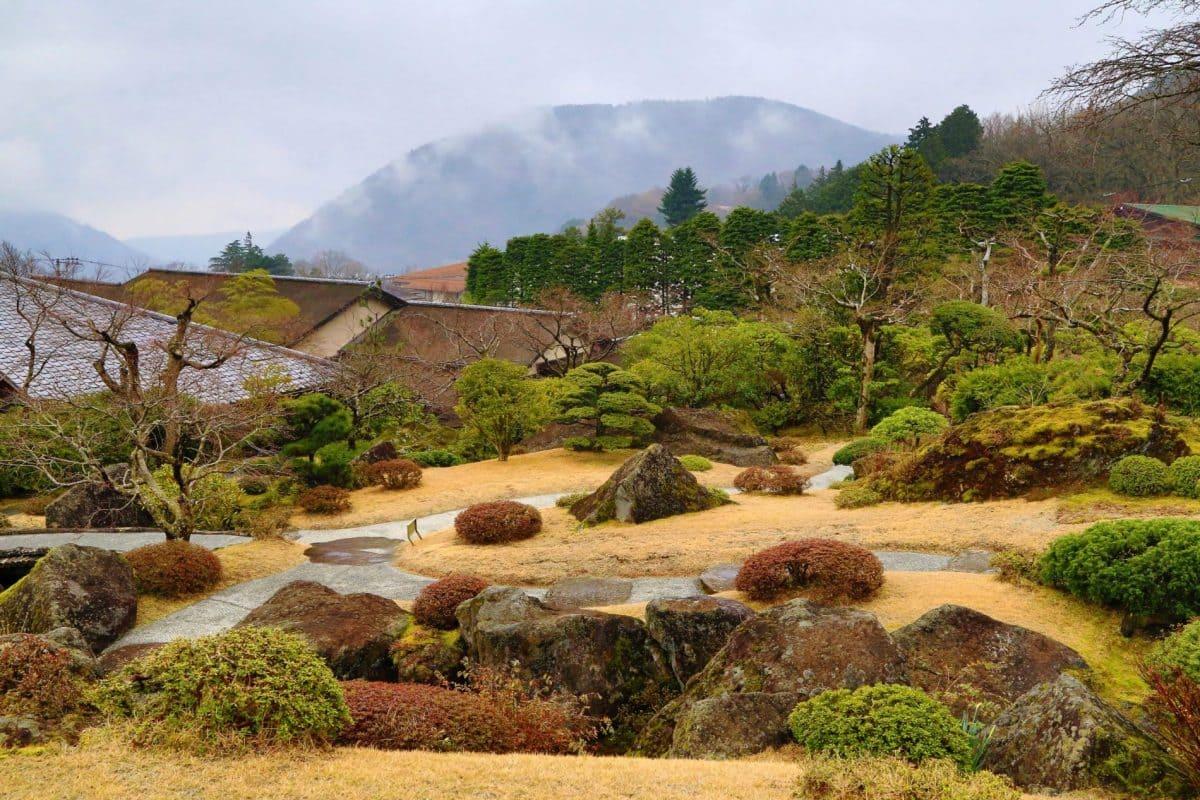 Путешествие по Японии весной. Парк Хаконе