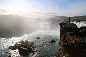 Исландия, Iceland. Водопад Годафосс