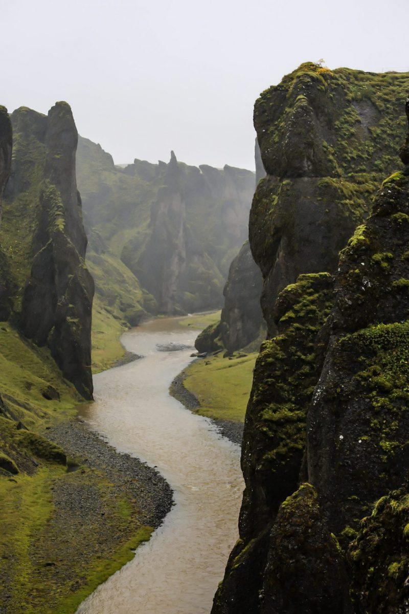 Путешествие в Исландию. Каньон.