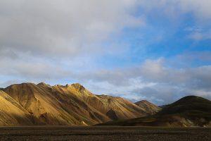 Исландия, цветные горы