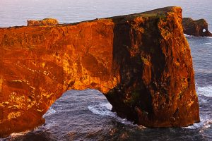 Исландия, арка Дюрхалей