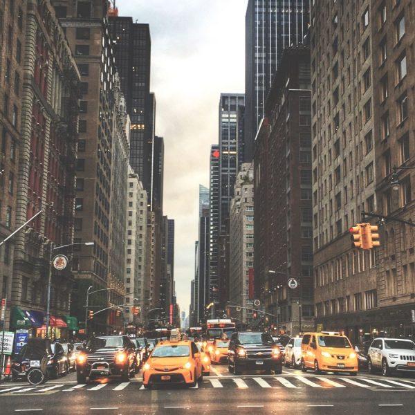 США, городской ритм Нью-Йорка