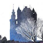 Замок, обложка рассказа
