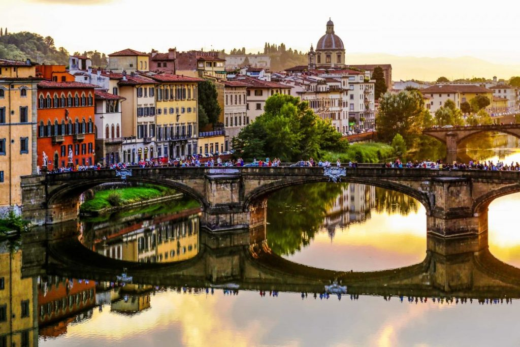Мост во Флоренции, Италия