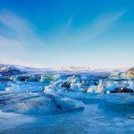 Голубые льды Исландии