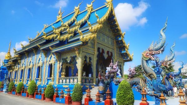 красивые храмы, тайланд