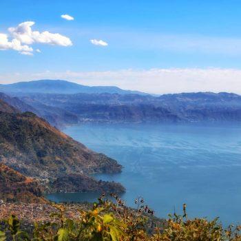 океан и горы гваьемалы