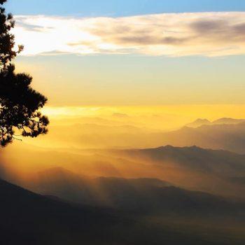 рассвет в гватемале