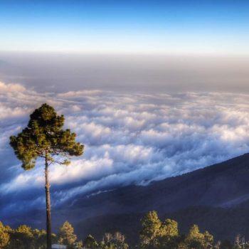 над облаками в гватемале